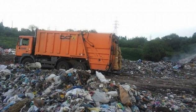 На Кіровоградщині арештували львівські сміттєвози