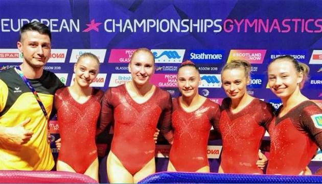 Гимнастика: сборная Украины прошла в финал командного чемпионата Европы
