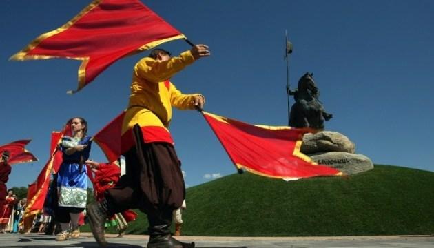 基辅伊利亚•穆罗梅茨纪念碑揭幕