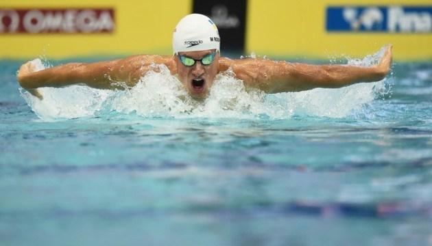 Плавание: Михаил Романчук - чемпион Европы на дистанции 400 метров вольным стилем