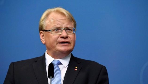 Міністр оборони Швеції відповів на брехню Шойгу щодо НАТО
