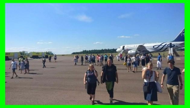 В аеропорту Гельсінкі загорівся пасажирський літак