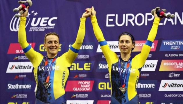 Велоспорт: Басова і Старикова виграли «срібло» в командному спринті на чемпіоні Європи