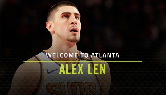 Олексій Лень став гравцем «Атланти Хокс»