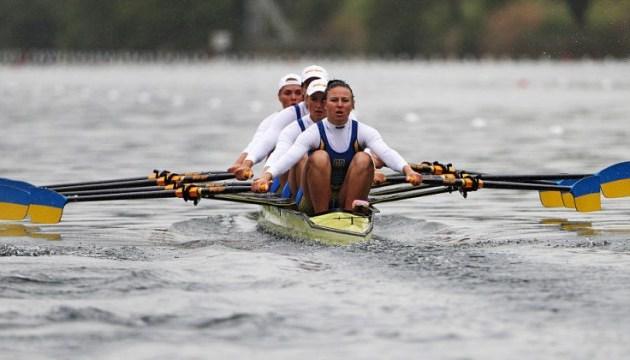 Академічне веслування: українська жіноча четвірка виграла «срібло» на чемпіонаті Європи