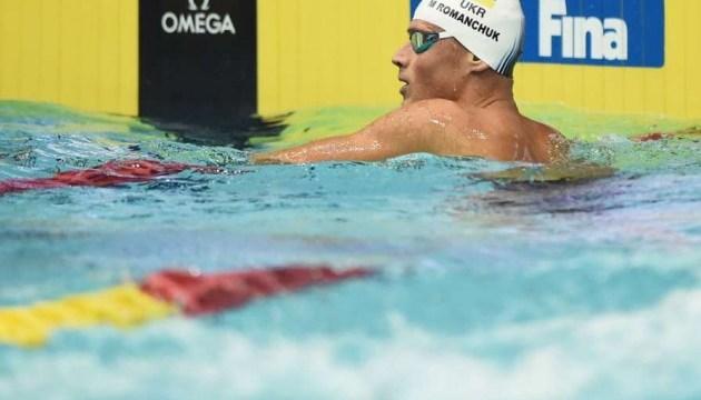 Український плавець Романчук взяв «срібло» ЧЄ на дистанції 1500 метрів
