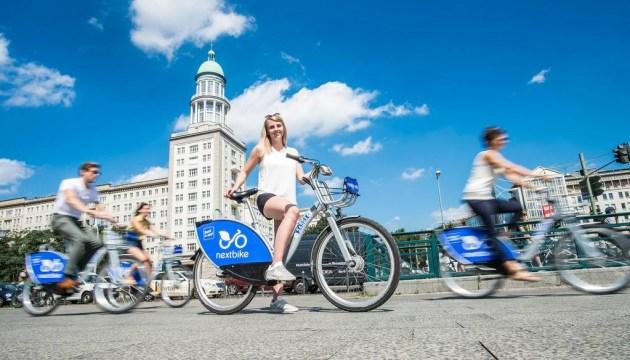В Киеве появится первый общественный велопрокат