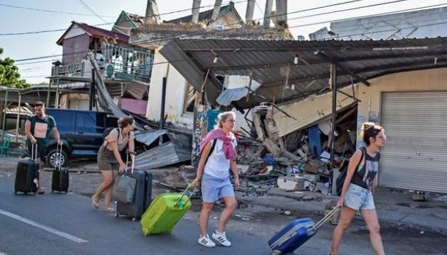 На индонезийском острове произошло новое землетрясение