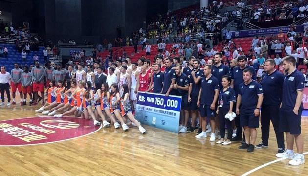 Баскетбол: збірна України-2 посіла друге місце на турнірі в Китаї