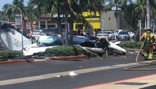 В Калифорнии разбился самолет, пятеро погибших