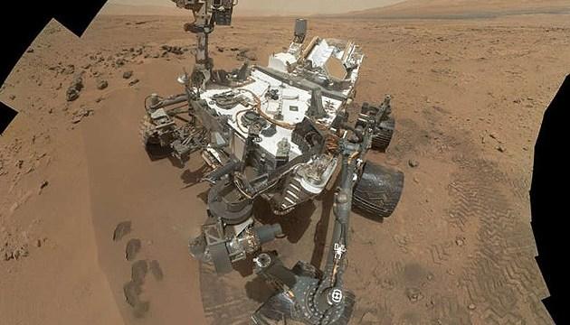 Cutriosity наткнулся на загадочный объект на поверхности Марса