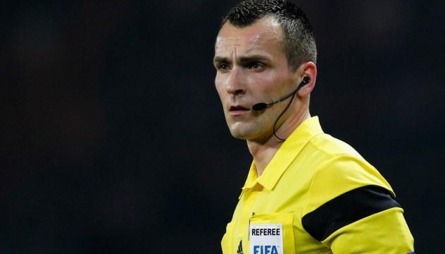 Стали известны арбитры матчей отбора Лиги Европы УЕФА  с участием украинских клубов