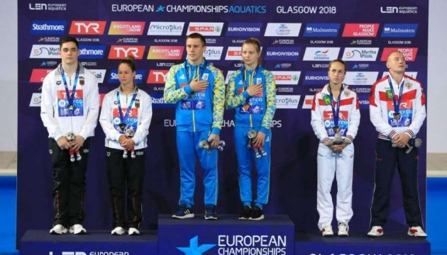 Прыжки в воду: Украина берет «золото» чемпионата Европы в командном турнире