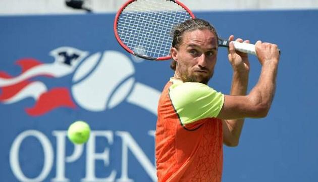 Український тенісист Олександр Долгополов знявся з US Open