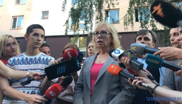"""Денісова назвала інформацію РФ про політв'язнів """"брехнями без меддовідок"""""""