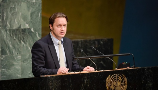 Ukraine in UN calls for stepping up pressure on Russia over its aggression