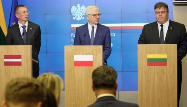 Україна і Грузія мають стати членами НАТО - глава МЗС Латвії