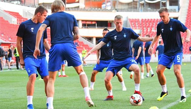 Dynamo Kyiv tests Eden Arena before Champions League qualifier against Slavia Prague