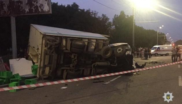 Внаслідок ДТП у Дніпрі дві людини загинули, ще одну госпіталізували