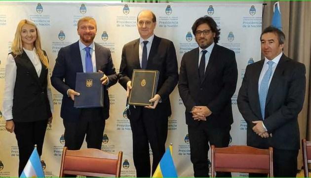 Ukraine und Argentinien werden in Strafjustiz kooperieren