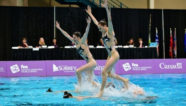 Ukraine wins fifth medal in synchronized swimming at European Championships