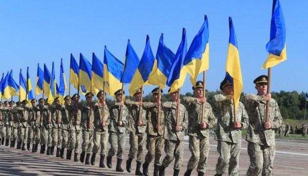 Як нацгвардійці готуються до військового параду