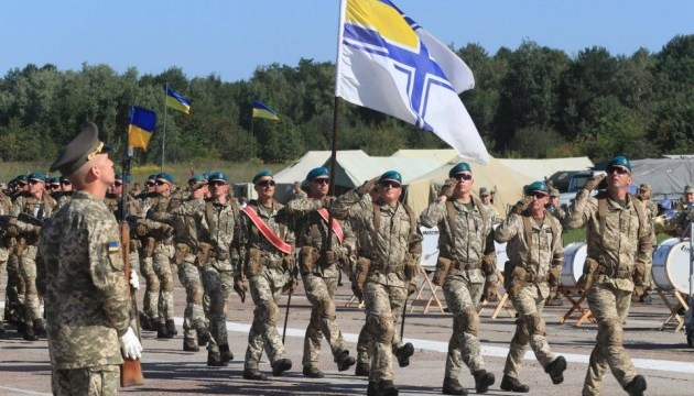 """Президент доручив законодавчо закріпити військове вітання """"Слава Україні!"""""""