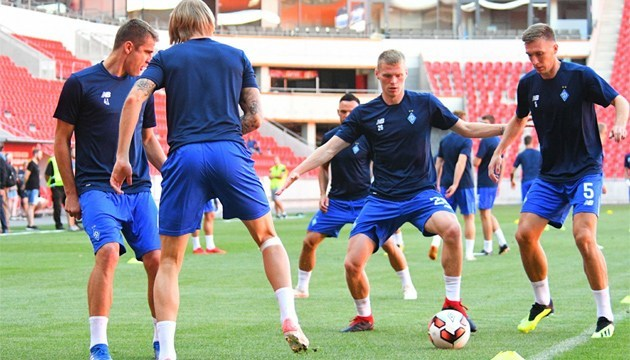El Dynamo Kyiv prueba Eden Arena antes del partido de clasificación de la Liga de Campeones contra el Slavia Praga (Vídeo)