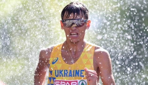 Легкая атлетика: Марьян Закальницький - чемпион Европы по спортивной ходьбе