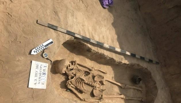 Une sépulture unique trouvée dans la région de Zaporijjya (photos)