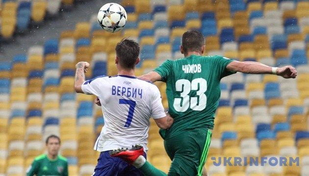 Вербич признан лучшим футболистом чемпионата Украины в июле