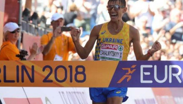 田径:马里扬•扎卡尔尼茨基竞走欧锦赛夺冠