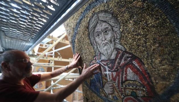 Des travaux de restauration à grande échelle démarrent à la cathédrale Saint-Sophie de Kyiv