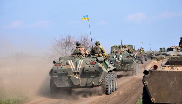 Cuatro militares ucranianos resultan heridos