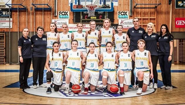 Баскетбол: сьогодні українки поборються за вихід до 1/4 фіналу ЧЄ U-18