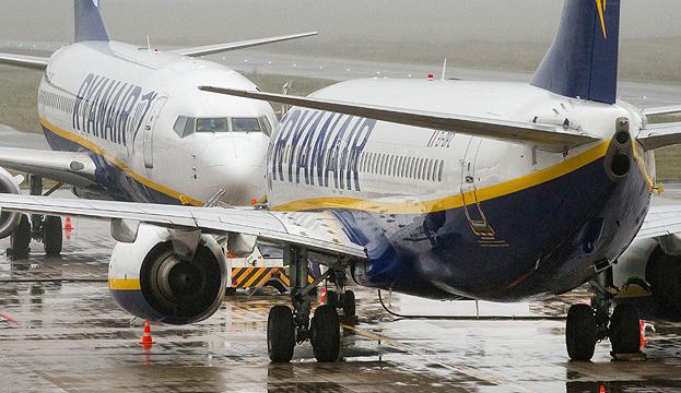 Ryanair через страйк скасувала сьогоднішні рейси з України до Іспанії та Німеччини