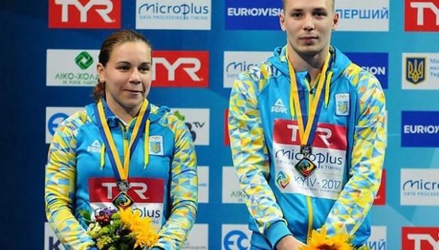Стрибки у воду: Україна бере «бронзу» у міксті на чемпіонаті Європи