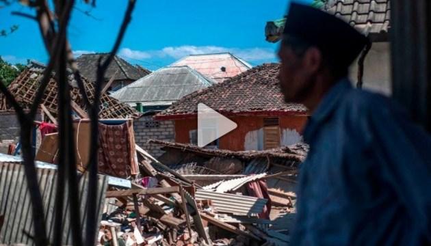 Количество погибших от землетрясения в Индонезии возросло до 347