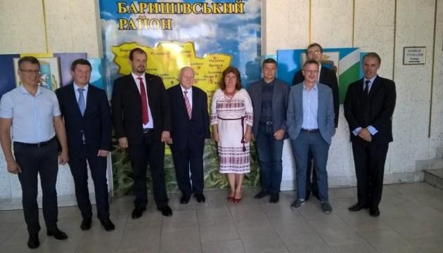Спецпосланник уряду ФРН ознайомився зі станом впровадження реформи на Київщині