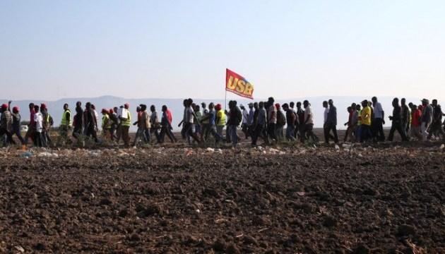 В Италии бастуют африканские мигранты
