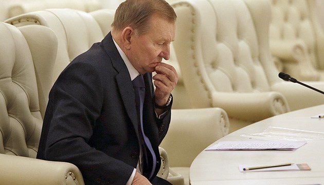 Kuchma steps down as Ukrainian rep at Trilateral Contact Group in Minsk
