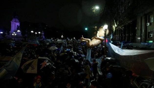 В Аргентині відмовилися легалізовувати аборти
