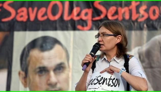 Сестра Сенцова: Олег вважає, що не доріс до премії Сахарова, але він не правий