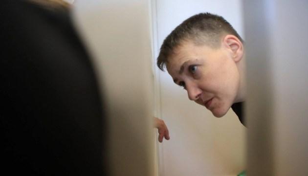 Суд призначив дату розгляду клопотання про зміну запобіжного заходу Савченко