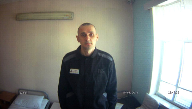 Ukrainian human rights commissioner unveils new photos of Oleg Sentsov