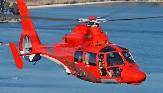 У Японії біля діючого вулкану зник рятувальний вертоліт