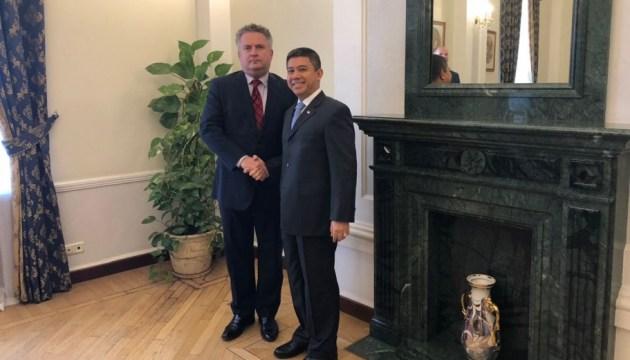 Индонезия просит Украину поделиться опытом членства в Совбезе ООН