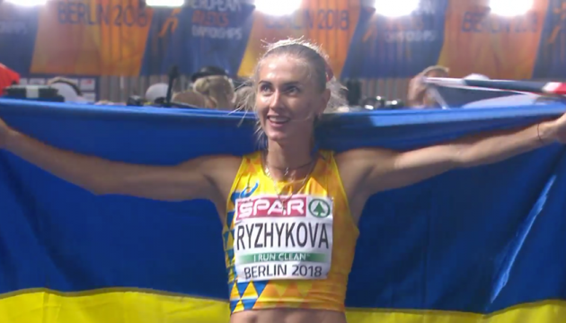 Легка атлетика: Анна Рижикова виграла «срібло» на чемпіонаті Європи