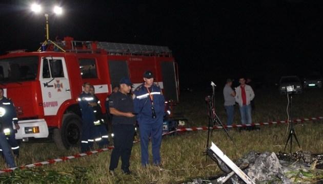 В Тернопольской области в результате падения мотодельтаплана погиб пилот
