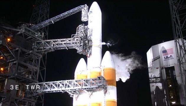 Запуск ракети Delta IV з розвідсупутником США відклали на добу